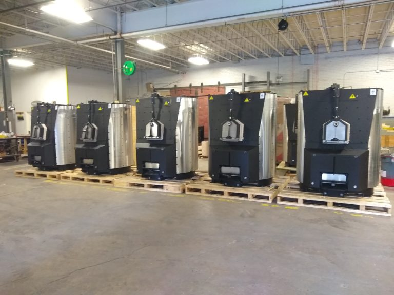 EFSP275's and 400's ready for crating and a boat ride to the EU